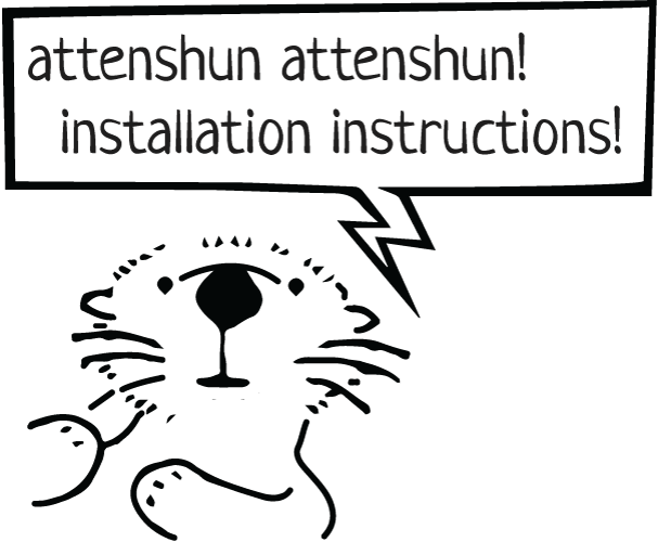 attenshun attenshun installation instructions