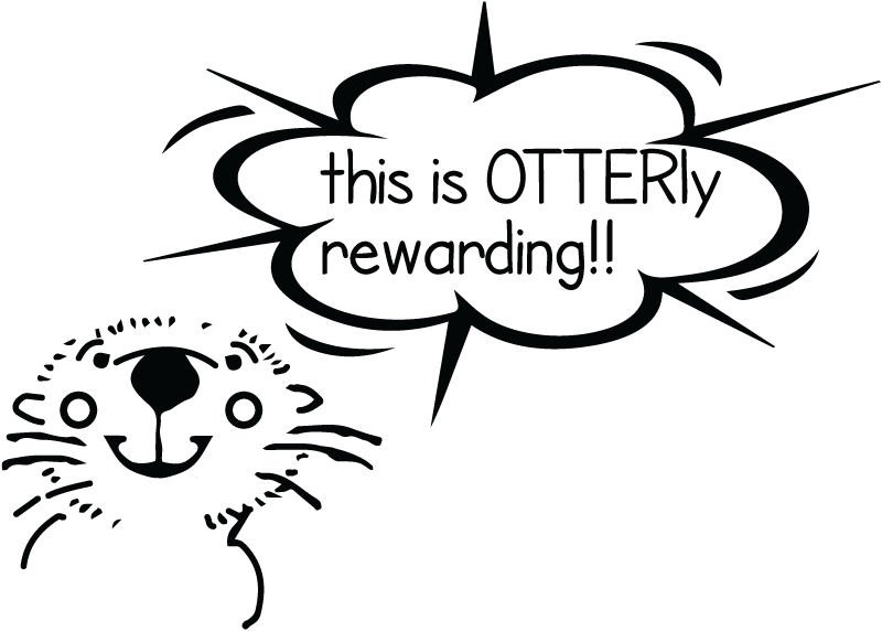 this is otterly rewarding
